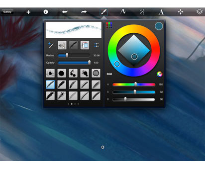 Drawing apps for iPad part one – Sketchbook pro for iPad